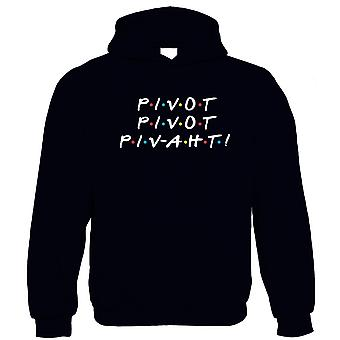 Pivot Hoodie - TV-serie Funny Marriage Friends Moving Furniture Sofa