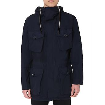 Aspesi I003f97385098 Hombres's chaqueta exterior de poliéster azul