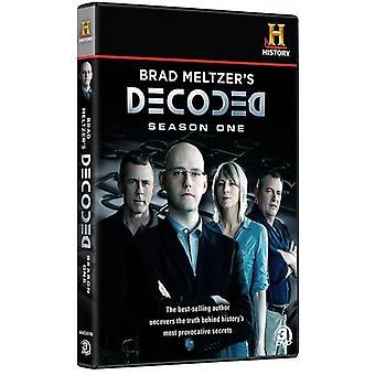 Brad Meltzers Decoded: Staffel 1 [DVD] USA Import