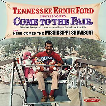 Tennessee Ernie Ford - Invites You to Come to the Fair & Here Comes the [CD] USA import