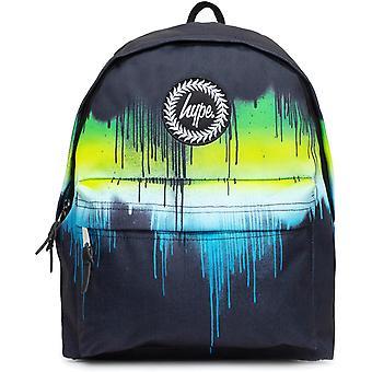 Hype Single Drips Backpack Bag Black 07