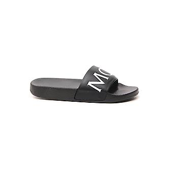Moncler 4c50107504999 Femmes'sandales en caoutchouc noir