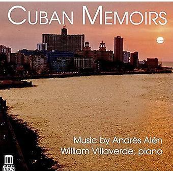 Alen / Villaverde - Cuban Memoirs [CD] USA import
