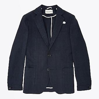 Oliver Spencer - Theobald Check Jacket - Marine