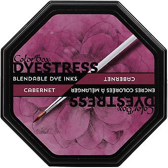 Clearsnap ColorBox Dyestress Blendable डाई स्याही पूर्ण आकार Cabernet