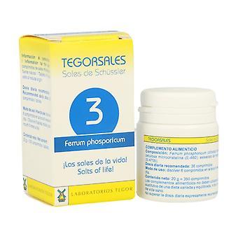 Ferrum Phos D6 Salts 3 350 tablets of 20g