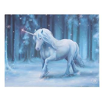 Iets anders Winter Wonderland Canvas Plaque