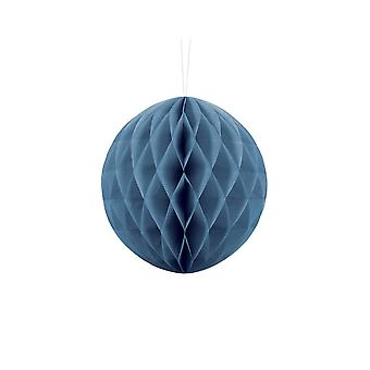 20cm Dusty Blue Tissue Paper Honeycomb Ball Wedding Party Decoration