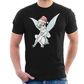 Disney Peter Pan Tinker Bell Christmas Men-apos;s T-Shirt