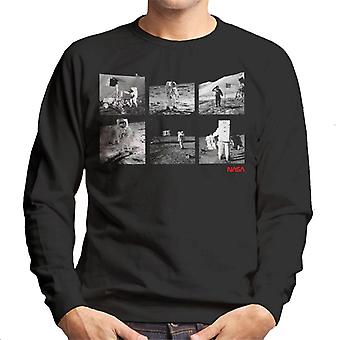 NASA Apolo 11 Landing Photos Men's Sweatshirt