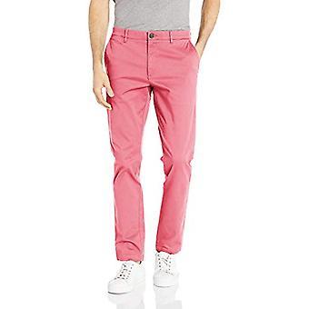 Merkki - Goodthreads Men's Skinny-Fit Pesty Comfort Stretch Chino Pant Pant, Pesty punainen, 40W x 28L