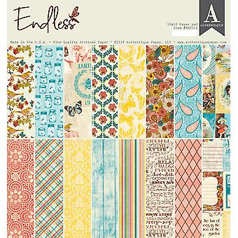 Authentique Endless 12x12 Inch Paper Pad