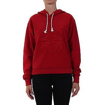 Loewe S359341x987100 Kvinder's Rød bomulds sweatshirt