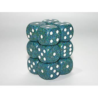 Chessex Speckled Sea 16mm D6 x 12