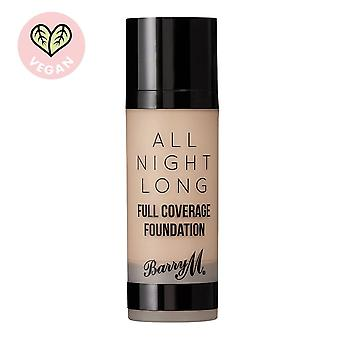 Barry M All Night Long Full Coverage Foundation-Oatmeal