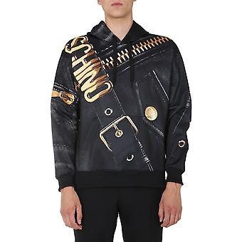 Moschino 171152591555 Herren's Schwarz Polyester Sweatshirt