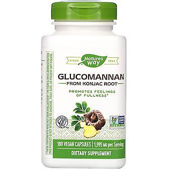 Nature-apos;s Way, Glucomannan de Konjac Root, 1 995 mg, 180 capsules végétaliennes