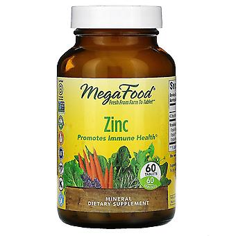 MegaFood, Zink, 60 tabletten