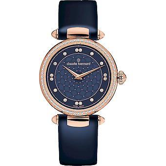 Claude Bernard - Wristwatch - Ladies - Dress Code with stones - 20509 37RC BUIR