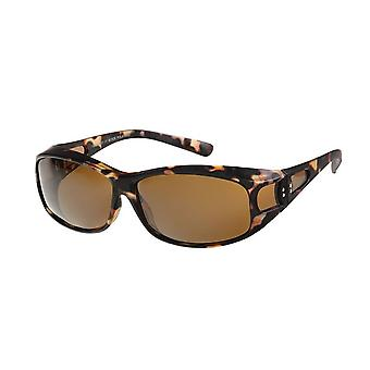 Sunglasses Women's Brown with Brown Lens VZ1002B