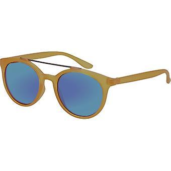 Sunglasses Unisex with Mirror Glass Yellow (AZ-17-103)