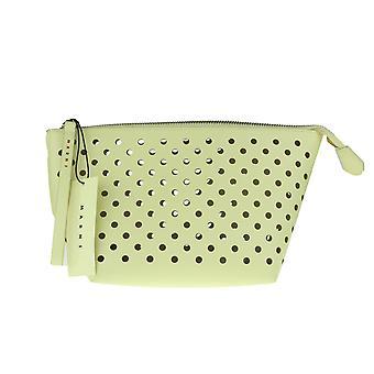 Marni Beige Cosmetic Bag Clutch New