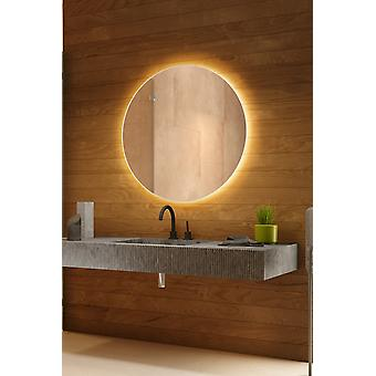 Ikaris Audio Backlit Mirror with Sensor, Demister & Shaver Socket CW