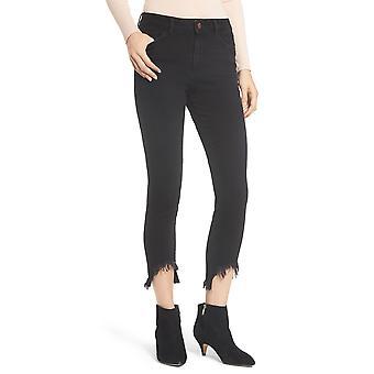 DL1961 | Farrow High Waist Destroyed Hem Skinny Jeans