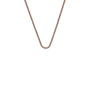 """Emozioni 24"""" Rose Gold Plated Sterling Silver Belcher Chain CH054 Emozioni 24 """" Rose Gold Plated Sterling Silver Belcher Chain CH054"""