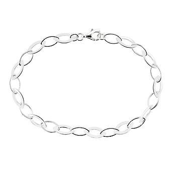 Dagg Sterling Silver set Marquise länk 7 armband 71007HP028