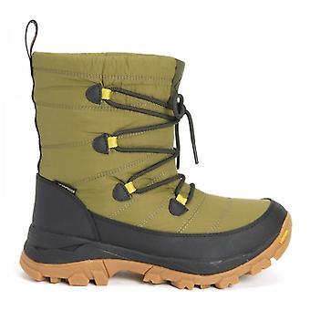 Muck Boots Arctic Ice Ag Nomadic Ladies Waterproof Boots Dark Green