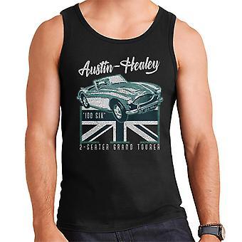 Austin Healey 2 Seater Grand Tourer British Motor Heritage Men's Vest