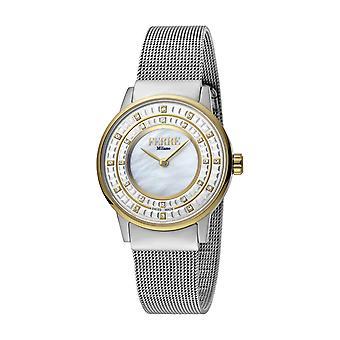 Ferre Milano Women's FM1L102M0091 Silver Dial Stainless Steel IP Mesh Bracelet Watch