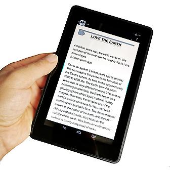 7inch Touch Screen Ebook Reader-Multifuncțional Wireless, Wifi Video Player