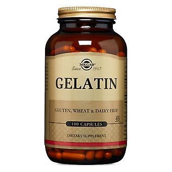 Solgar Gelatin Kapselit (kalsiumilla), 100 korkkia