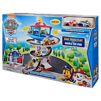 Paw Patrol True Metal Adventure Bay Rescue Playset