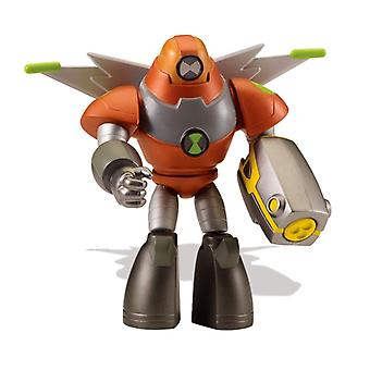 Ben 10 action figures - space armor heatblast for ages 4+