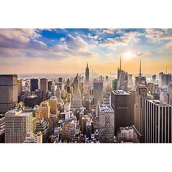 Sfondo Mural Manhattan Skyline
