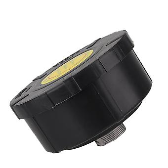 Plastic Shell 33mm Threaded Air Compressor Intake Filter Silence