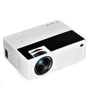 Silent LCD Projektor 800x480P Weiß