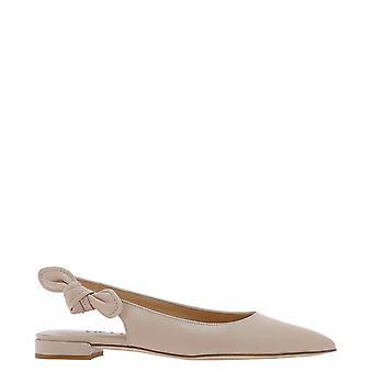 Guglielmo Rotta 4118nnappanude Women's Pink Leather Flats