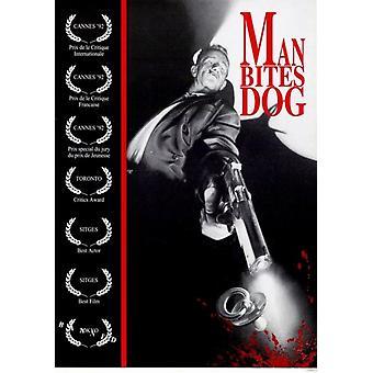 Hombre mordeduras perro Movie Poster (11 x 17)