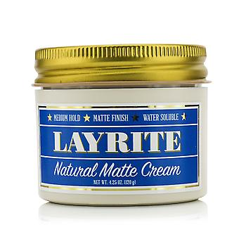 Natural matte cream (medium hold, matte finish, water soluble) 213006 120g/4.25oz