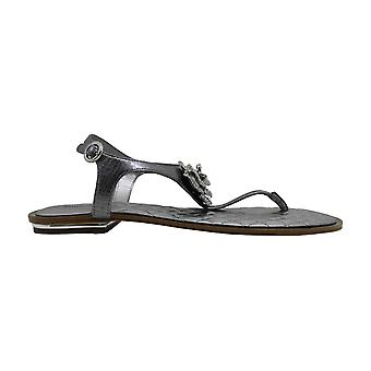 Michael Michael Kors Womens Lucia Thong Leather Open Toe Casual Slingback San...
