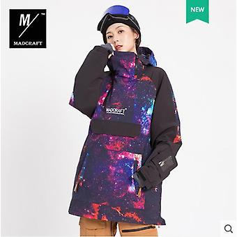メン&アポスの冬の暖かく防風防水スノーボードは、全体的にスキー用品を着用