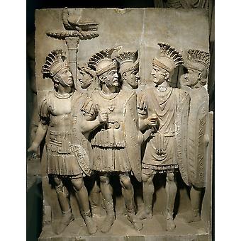 2046 romerska Art affisch Skriv ut