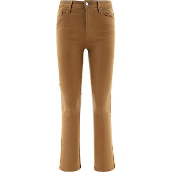 Frame Lcmbct403 Women's Brown Cotton Jeans