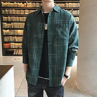 Men Dress Formal Long Sleeve Casual Slim Fit Business High-quality Shirt
