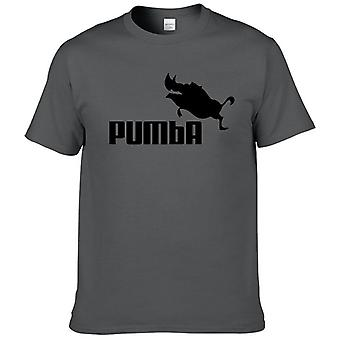 Funny Tee Cute Homme Puma Casual Short Sleeves Cotton T Shirt