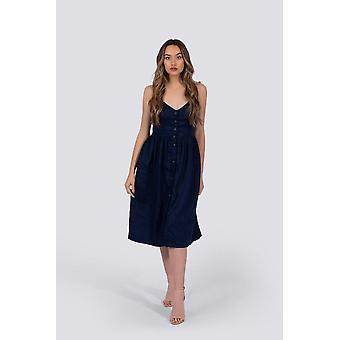 Everly Dress | Navy